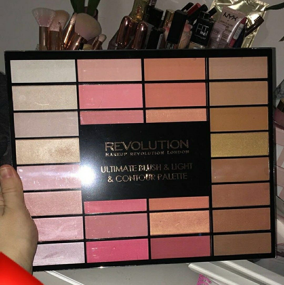 Pin by Ashley Mahon on Makeup Makeup revolution palette