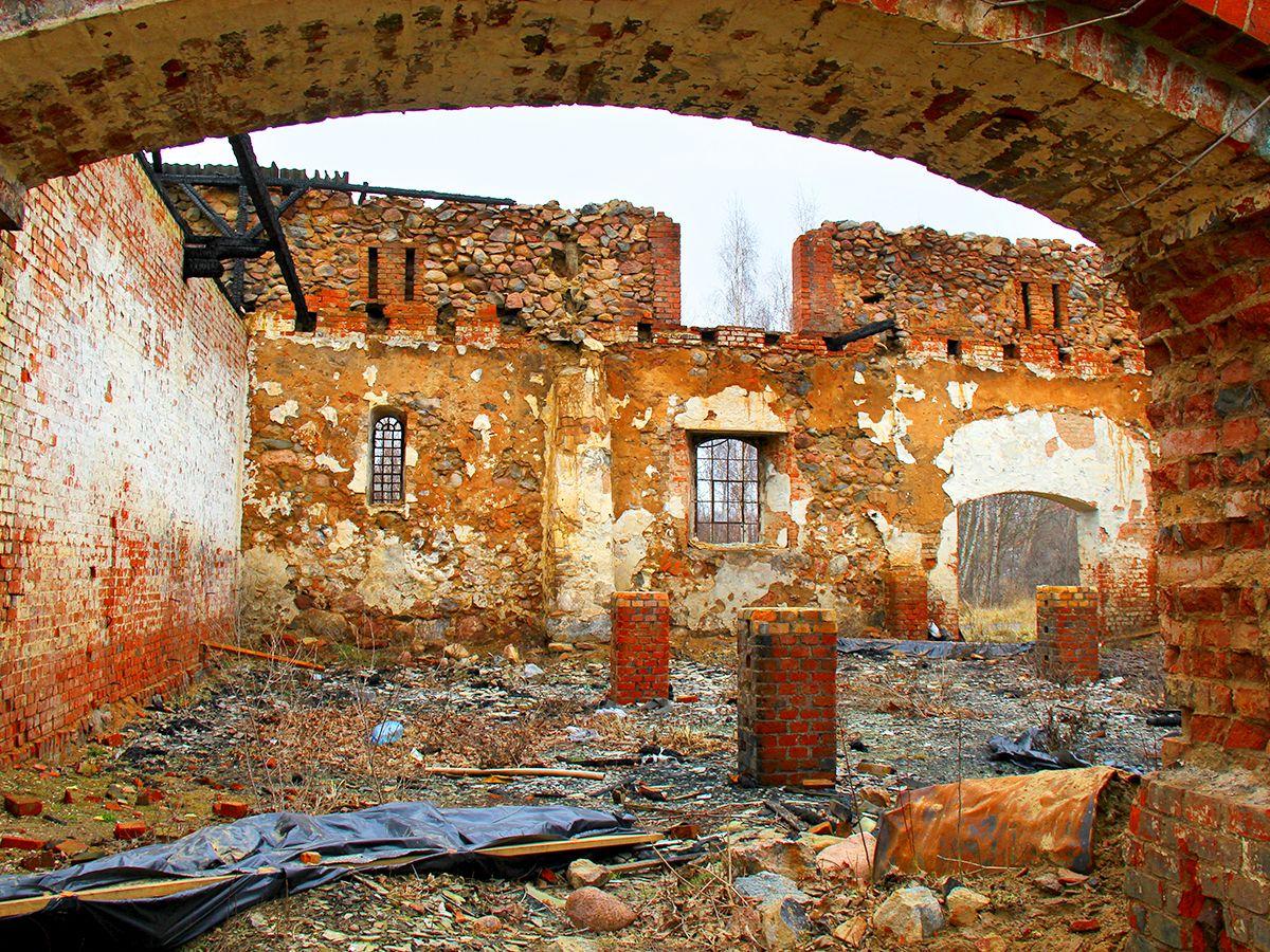 Старые строения Пальмникена
