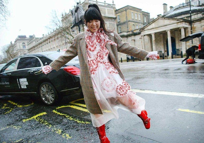 Best London Fashion Week Street Style: Susie Lau in Simone Rocha