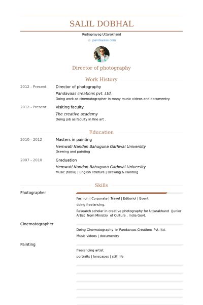 Stagehand Resume Examples - Examples of Resumes