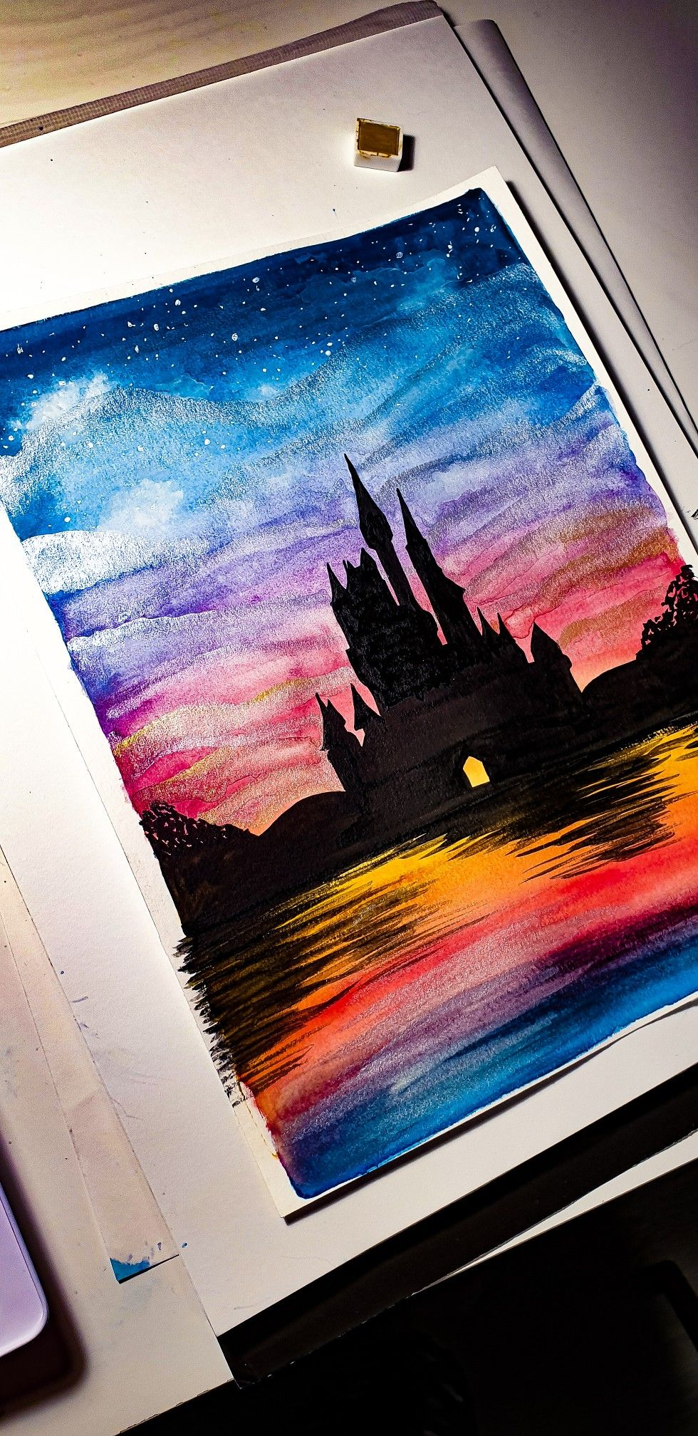 Watercolour Aquarell Aquarelle Aquacolor Draw Drawing Paint