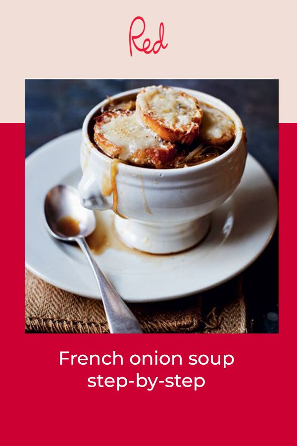 Step-by-step French onion soup recipe