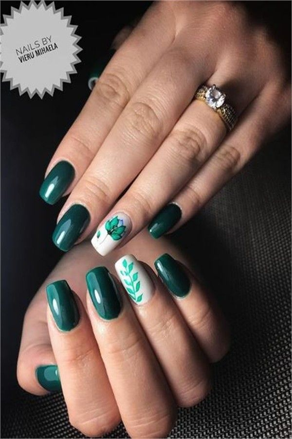 30+ Awesome Watercolor Nail Art Designs Trends 2019 – Fashonails