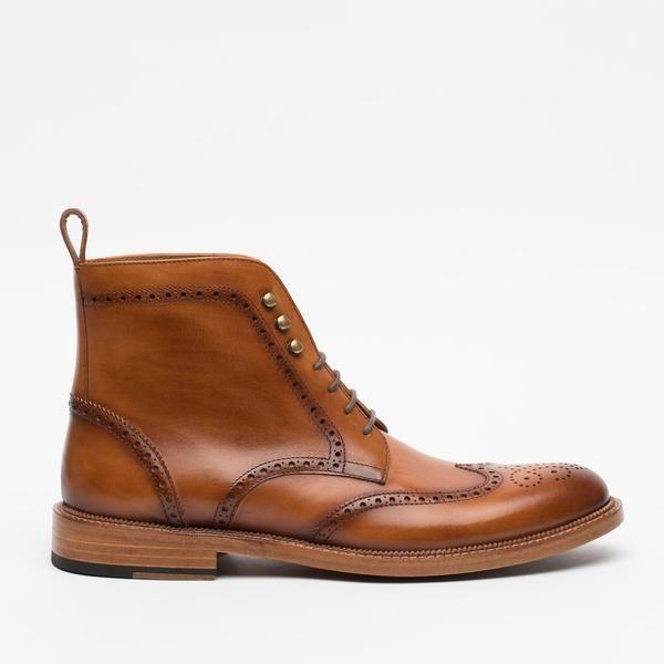 The Mack Boot in Burnt Honey – TAFT