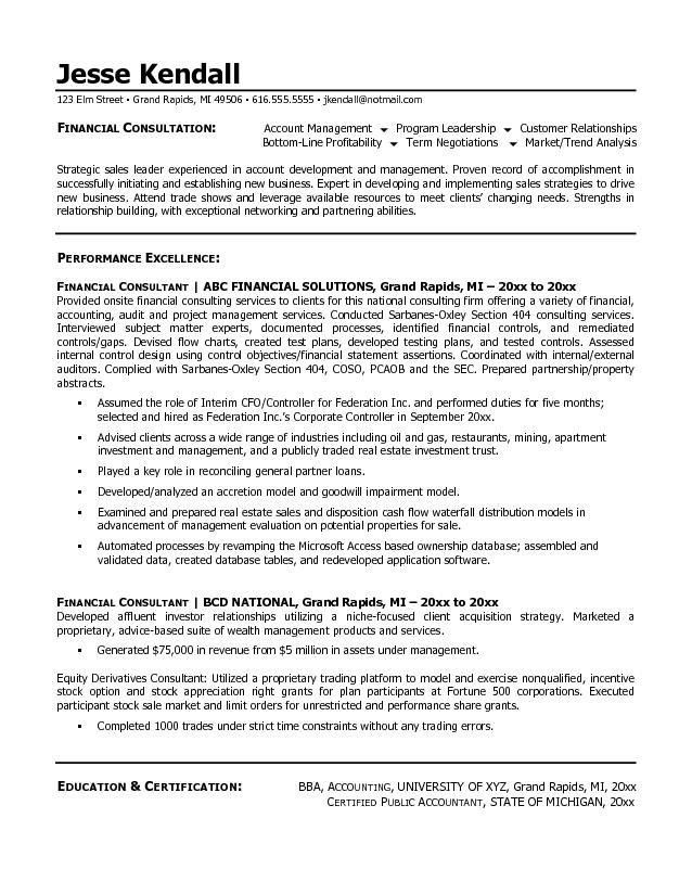 management consulting resume sample resume sample best management