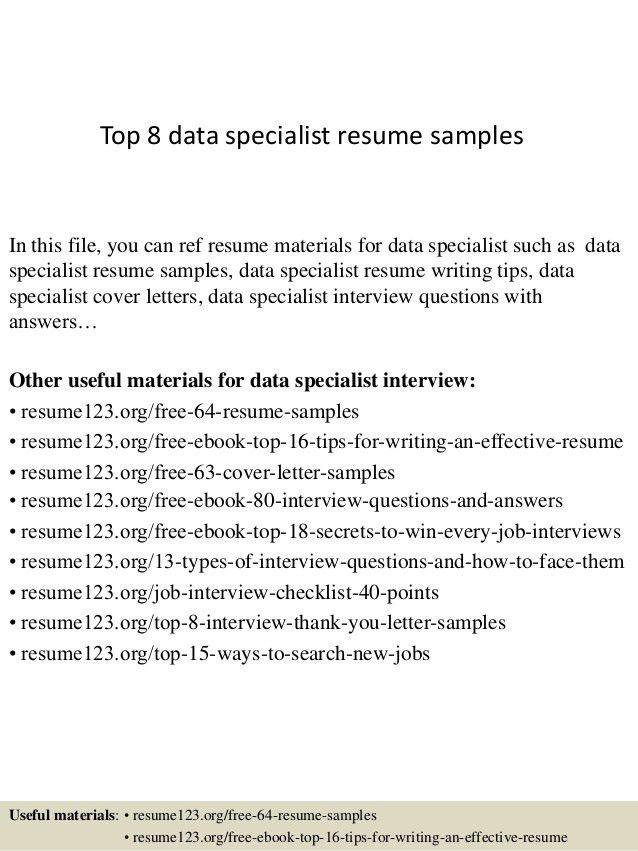 knowledge management specialist resume