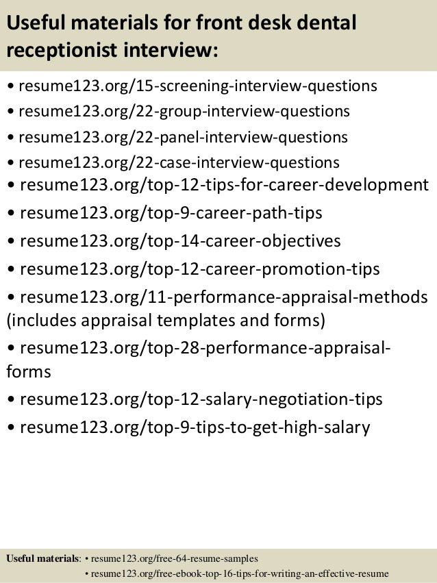 Front Desk Receptionist Resume Sample Unforgettable Receptionist - medical office receptionist resume
