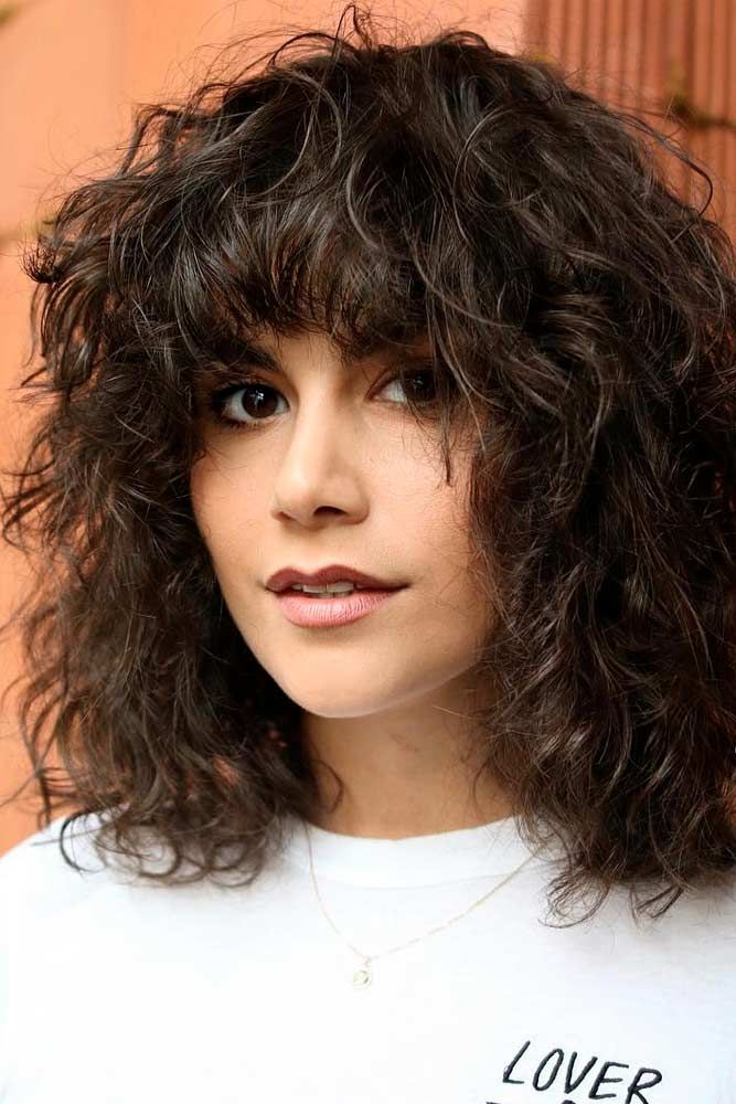 Multi Textured Perm Shaggy Bob #shaggyhair #layeredhairstyles ★ The best types and styles of modern perm for your flawless look. #glaminati #lifestyle #perm