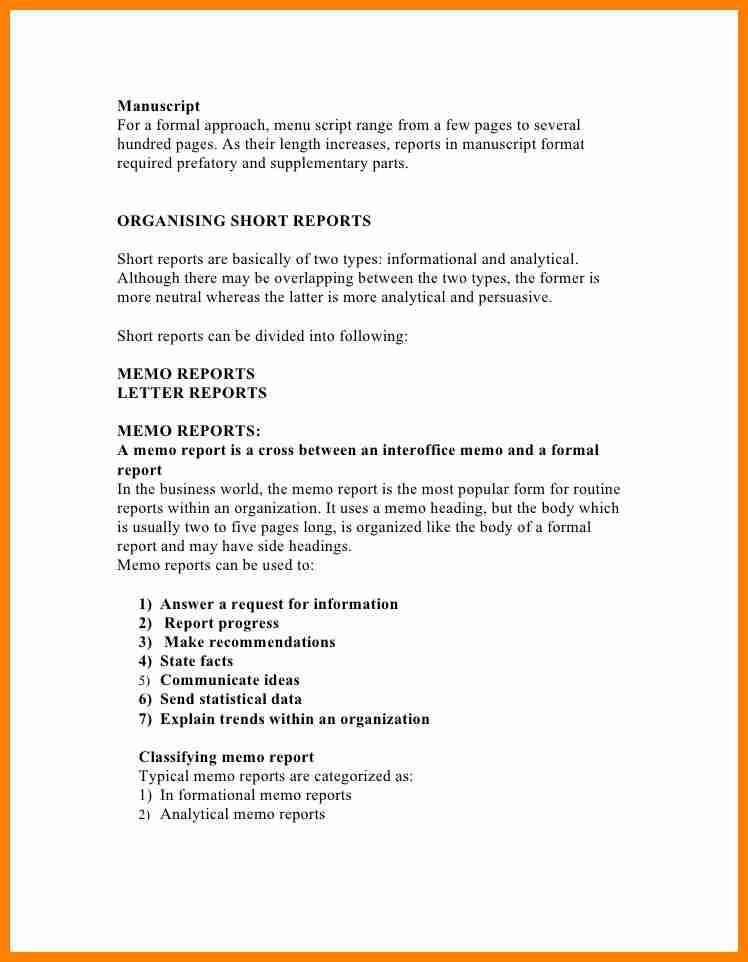 Short business report format zrom short business report template new beautiful incident report letter flashek Image collections