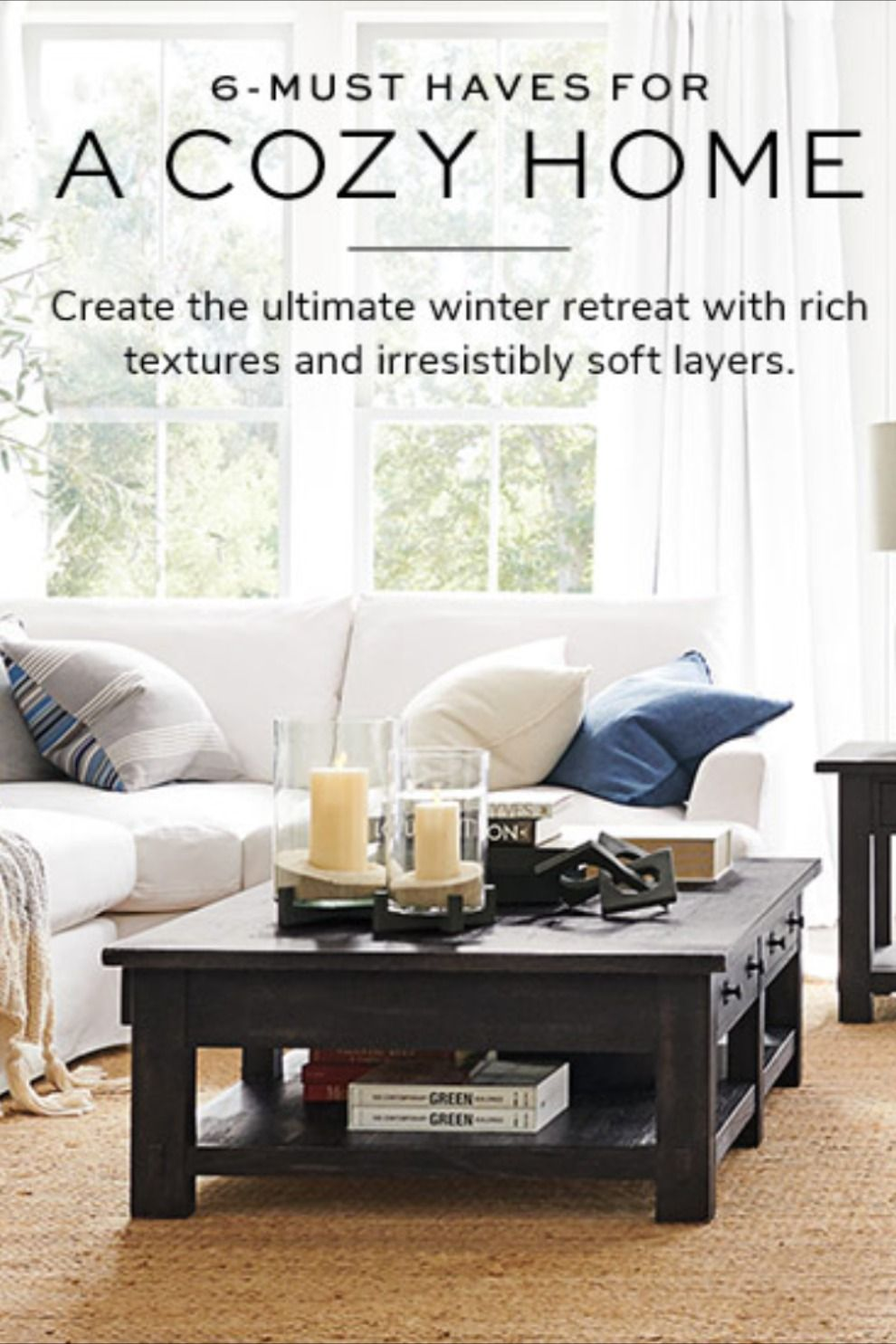 6 Cozy Must Haves for A Cozy Home