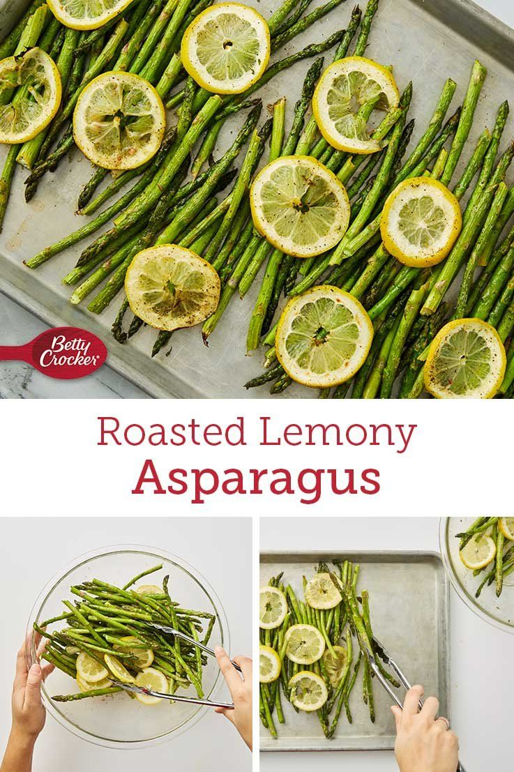 Lemon, salt, pepper and oil are all you need to bring this sheet pan of baked asparagus to life. Serve with your favorite dinner dish for a wow-worthy meal you'll come back to over and over.