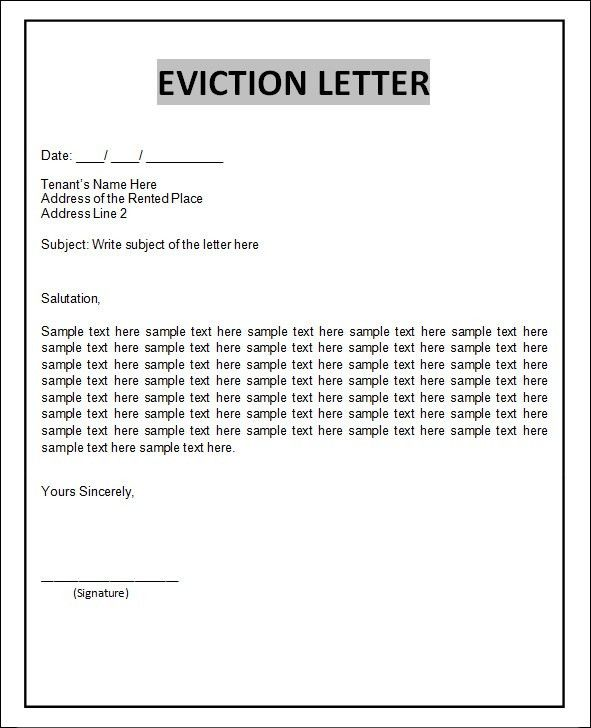 Blank Eviction Notice Form Blank Eviction Notice Form Free Word - eviction notice pdf