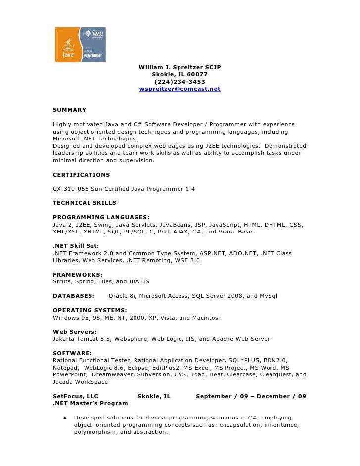 vb programmer sample resume rpg programmer resume rpg programmer