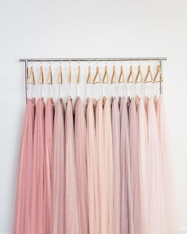 From dusty rose to blush kiss these tulle maxi skirts from @shoprevelry are sure tickling us pink! Bridesmaid ensemble bridal shower outfit or engagement session skirt… the limit does not exist for this sweeping skirts with S-T-Y-L-E. Click the link in our bio to try samples at home and explore the other designs swatches at your disposal from the @shoprevelry design team! photo @madelineharperphoto skirts @shoprevelry style #SkylarSkirt #ruffledvendor #revelry #bridesmaiddress #weddingfl