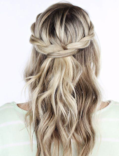 """Love this braided hair style. Get more of the best holiday hair ideas here. <a class=""""pintag"""" href=""""/explore/Braidedhairstyles/"""" title=""""#Braidedhairstyles explore Pinterest"""">#Braidedhairstyles</a><p><a href=""""http://www.homeinteriordesign.org/2018/02/short-guide-to-interior-decoration.html"""">Short guide to interior decoration</a></p>"""