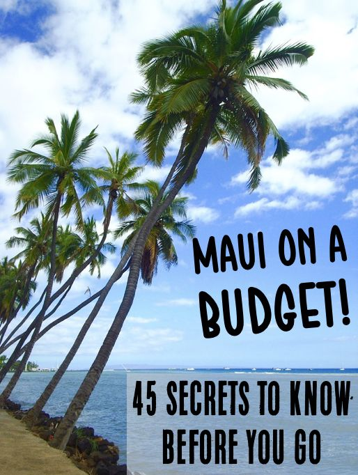 Maui Vacation with Kids or Family - Things to Do, Where to Stay and more!