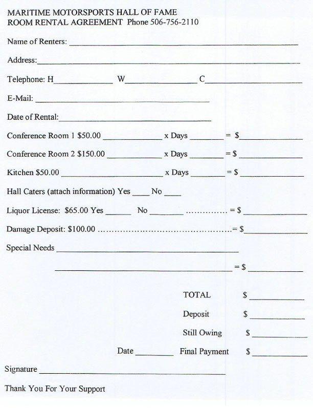 Sample Rental Agreement Form Free Rental Agreements To Print Free - room rental agreements