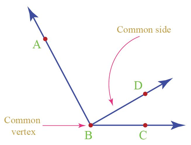 Math angle common vertex and common side