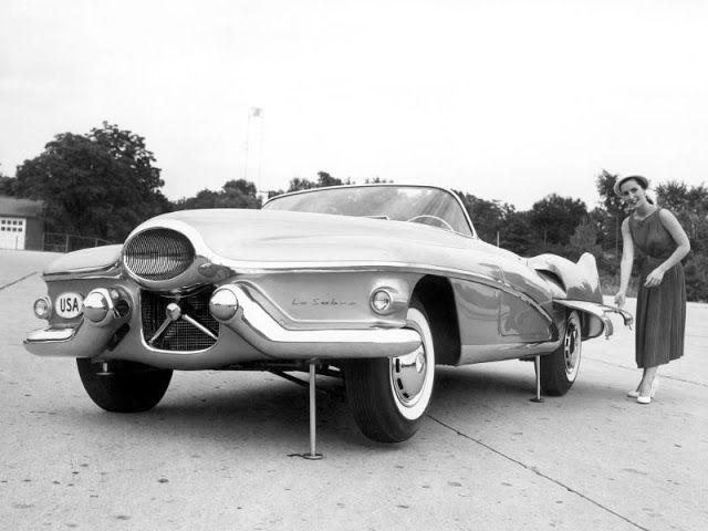 20 Cool Pics of the 1951 Buick LeSabre Concept Car