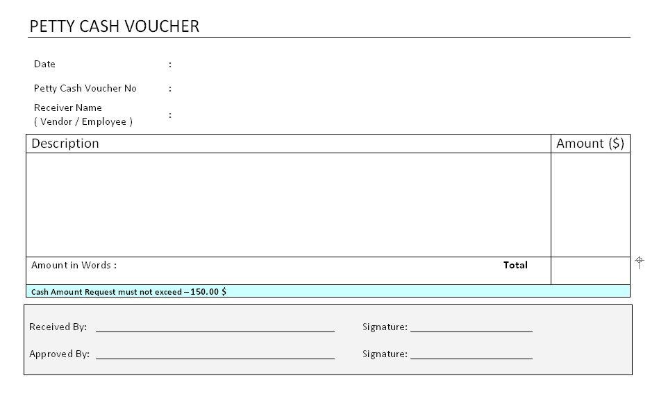 Voucher Format In Word Payment Voucher Template Word, 5 Microsoft - petty cash voucher template