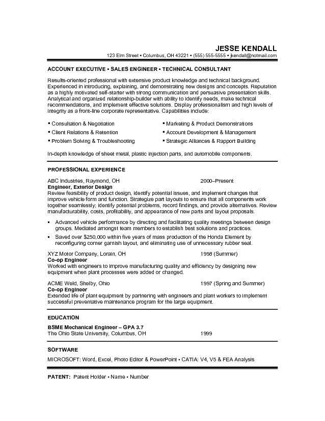 Resume Examples For Career Change Resume For A Career Change