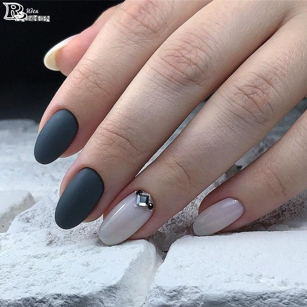 Top 100 Matte Nail Art Design Ideas for 2018 – Reny styles