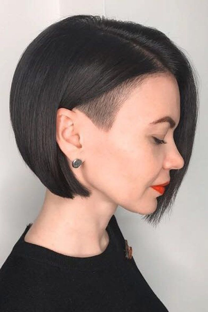 Business Casual Style #shorthair #darkhair ★ An undercut for women is a great way to upgrade their look no matter whether they prefer long hair or short haircuts. It's extremely versatile and has a multitude of design options, from simple side cuts to hidden nape shaved hairstyles, the trendiest of which you can find here.  #glaminati #lifestyle  #undercutwomen