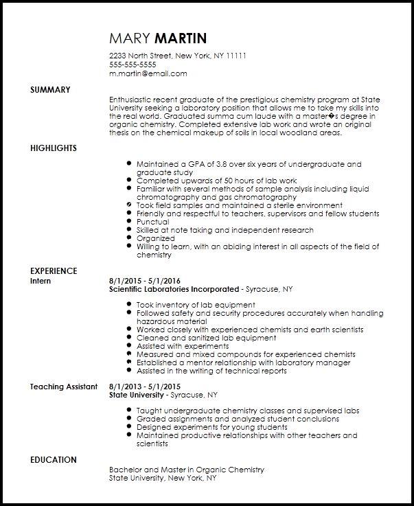 chemist resume sample node2002-cvresumepaasprovider - analytical chemist resume