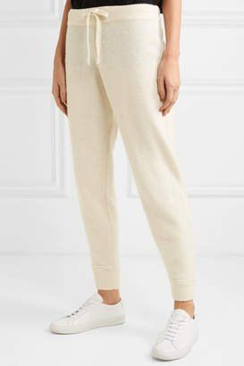 Lean into Lounge | Hatch The Jogger Wool-blend Track Pants - Cream