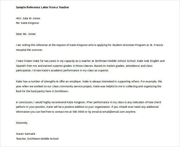 Free Sample Recommendation Letter From Employer Sample - mba recommendation letter