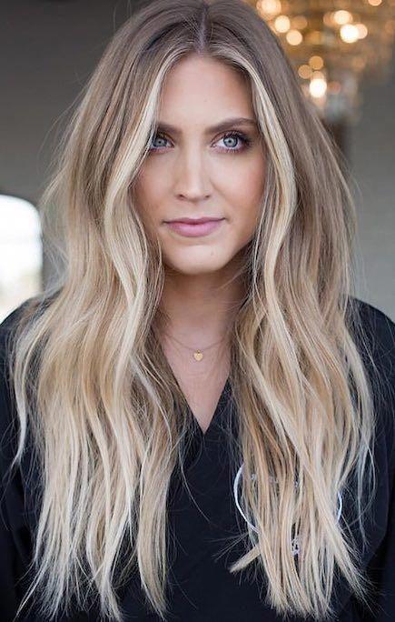 Absolutely stunning blonde hair balayage #blondehair