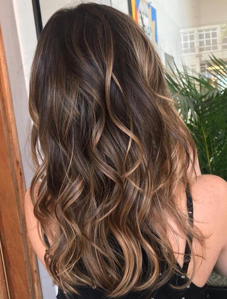 20 Sweet Caramel Balayage Hairstyles for Brunettes and Beyond – #balayage #beyond #brunettes #caramel #hairstyles #sweet