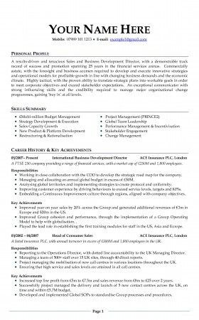 Uk Resume Example Cv Templates Uk Template Cv Examples Uk And  Examples Of A Cv