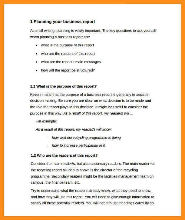 Formal Report Template Word formal report template word cvfreepro