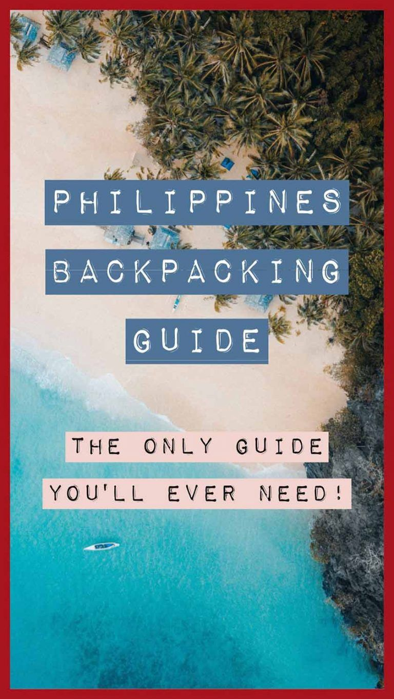 Philippines Backpacking Guide 2019 {Best Places To Visit In The Philippines}