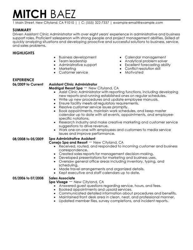 hmo administrator resume hmo administrator resume administration