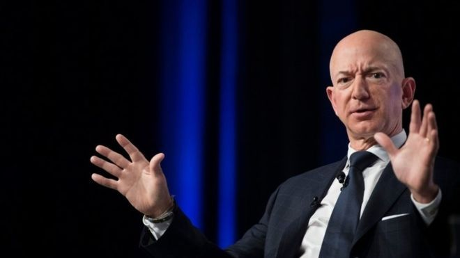 Jeff Bezos: World's richest man pledges $10bn to fight climate change - BBC News