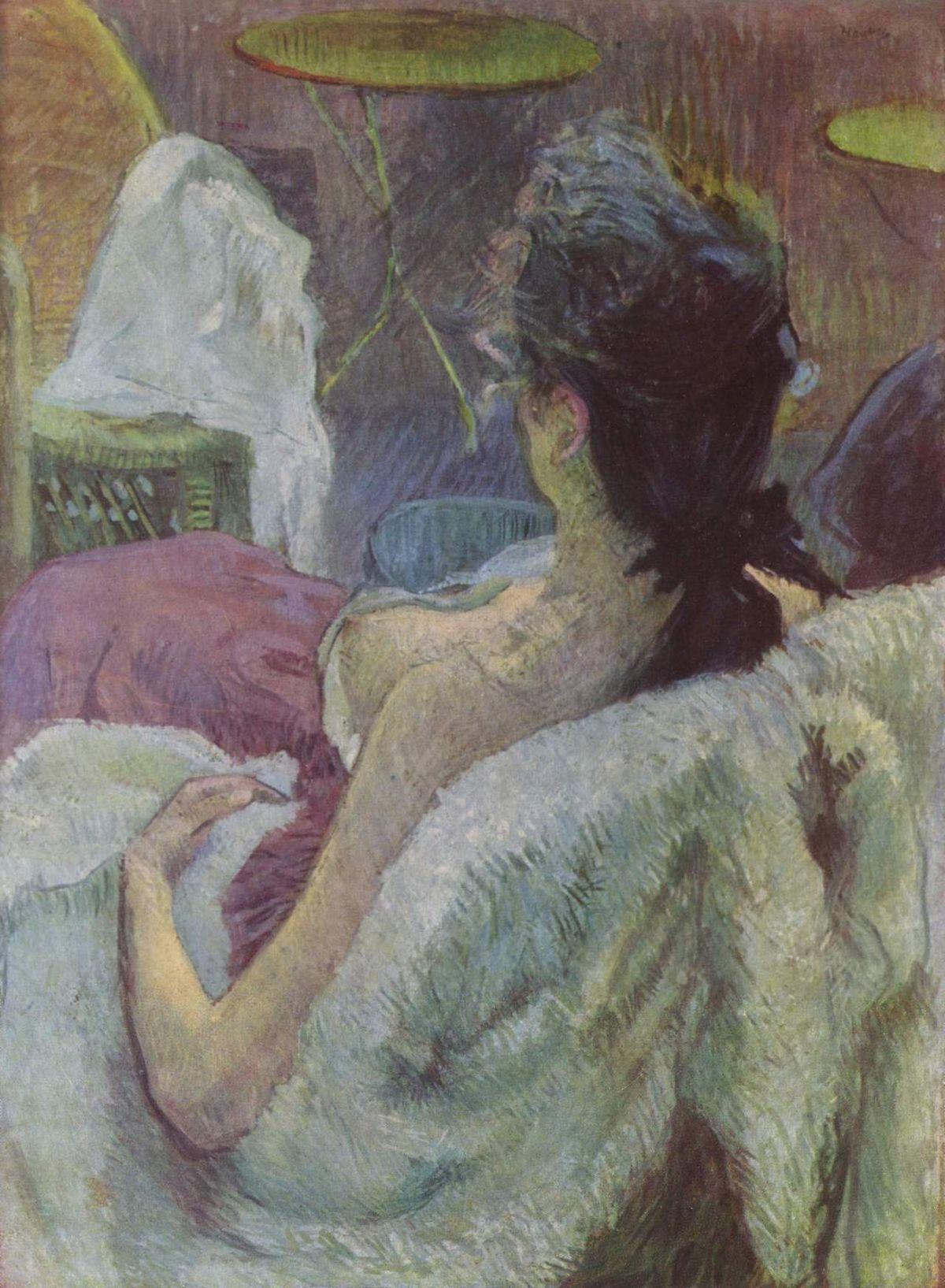 Henri de Toulouse-Lautrec - Ruhendes Modell (1896)
