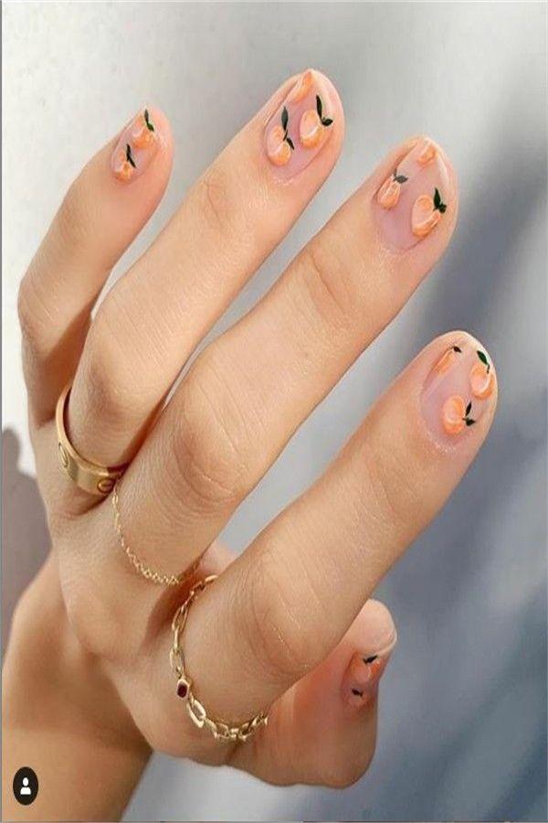 42 Cute And Elegant Wedding Nails Design Ideas 2019 – Fashonails #nail_art_designs #trendy_nails #wedding_nails