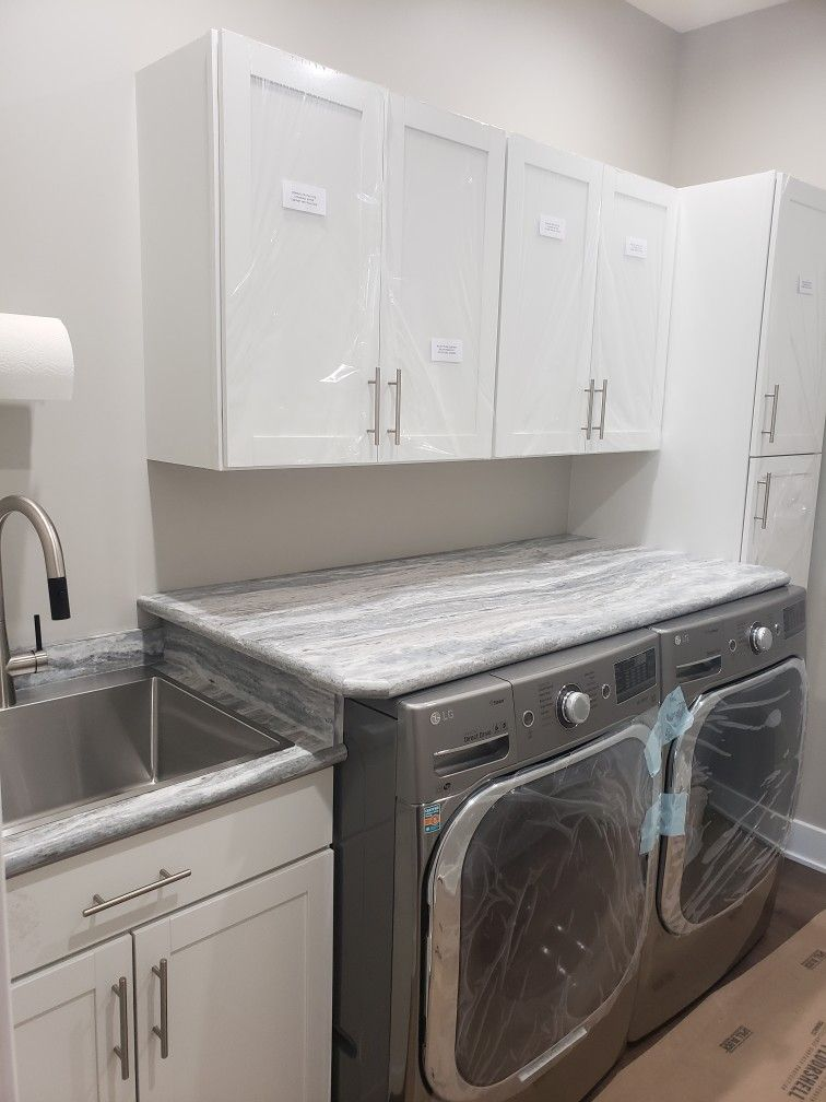 Affordable Laundry Room With Sink Kraus Faucet Lowe S Diamond