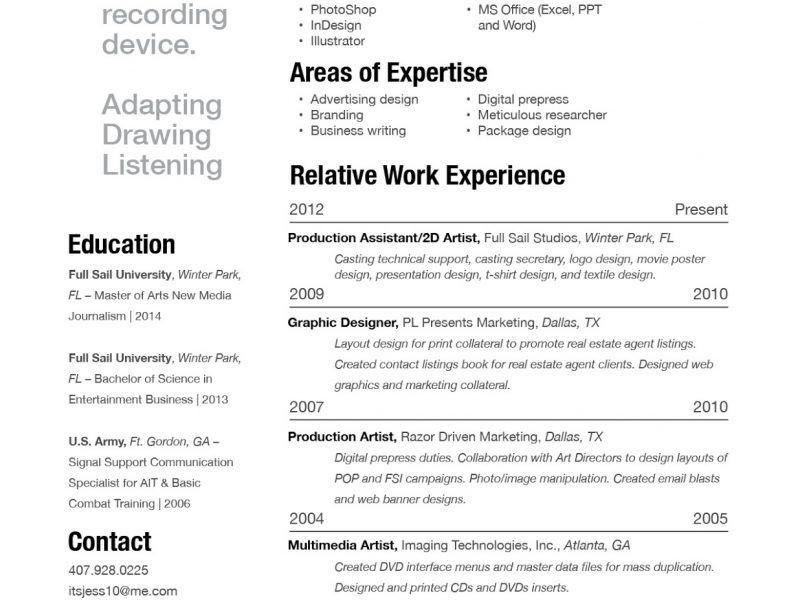 build me a resume