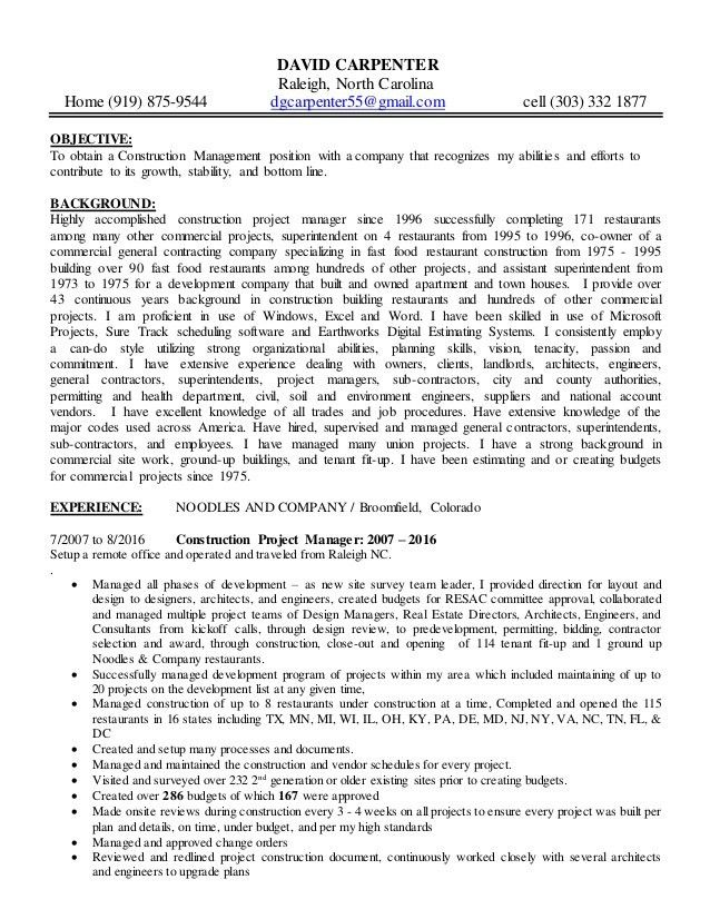 Scenic carpenter cover letter - Scenic Carpenter Sample Resume
