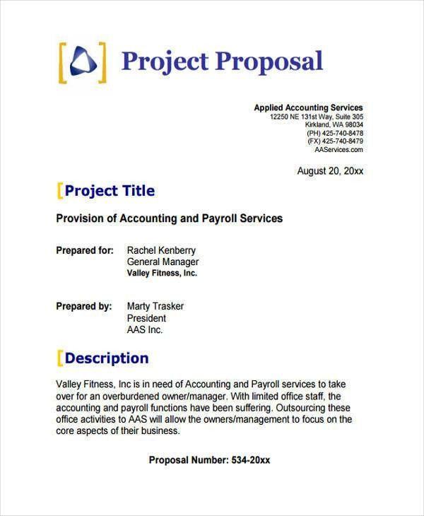 Project Proposal Example proposal for a project project research - proposal for a project