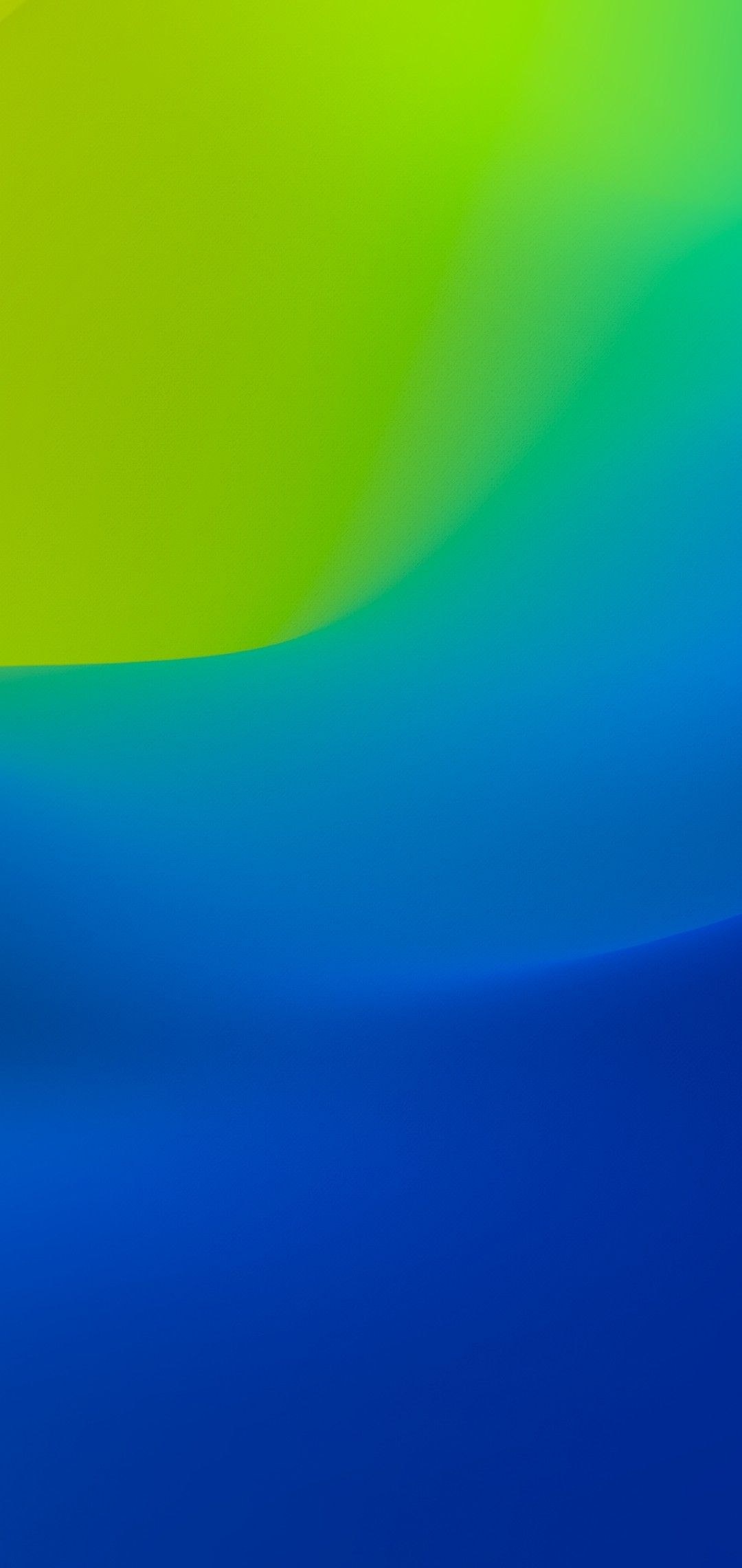 iOS 12, iPhone X, blue, green, clean, simple, abstract ...