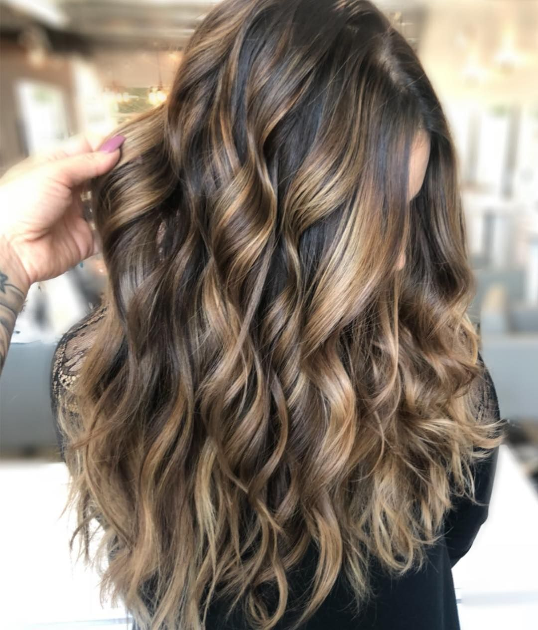 """Brunette Balayage✨ . . I love the softness of a hand painted balayage on brunettes✨ and especially on @kimberlynicolehair and her gorgeous…<p><a href=""""http://www.homeinteriordesign.org/2018/02/short-guide-to-interior-decoration.html"""">Short guide to interior decoration</a></p>"""