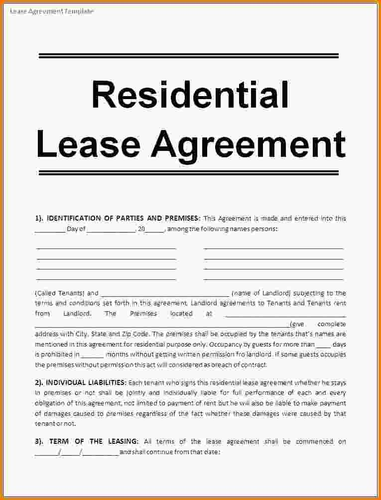 Lease Agreement Doc Rental Agreement Template Write A Perfect - property lease agreement template
