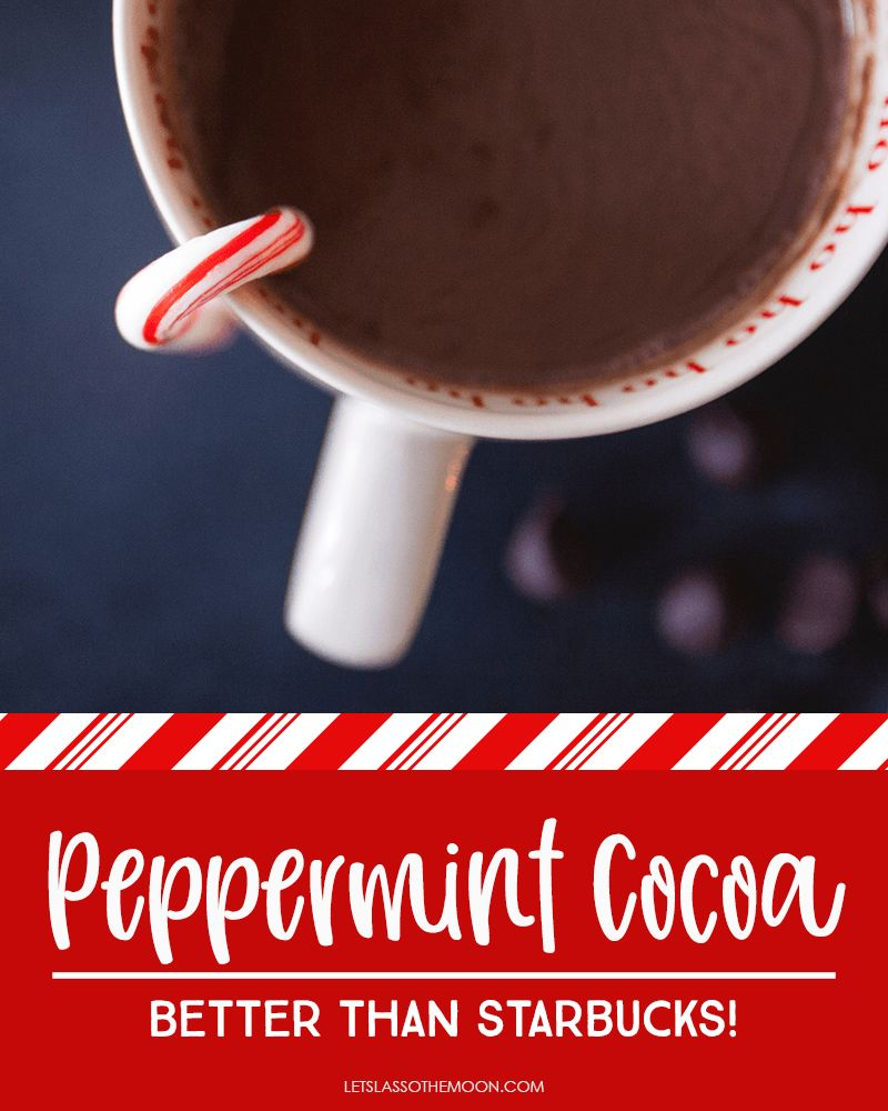 Peppermint Hot Chocolate That Will Absolutely Blow Your Mind