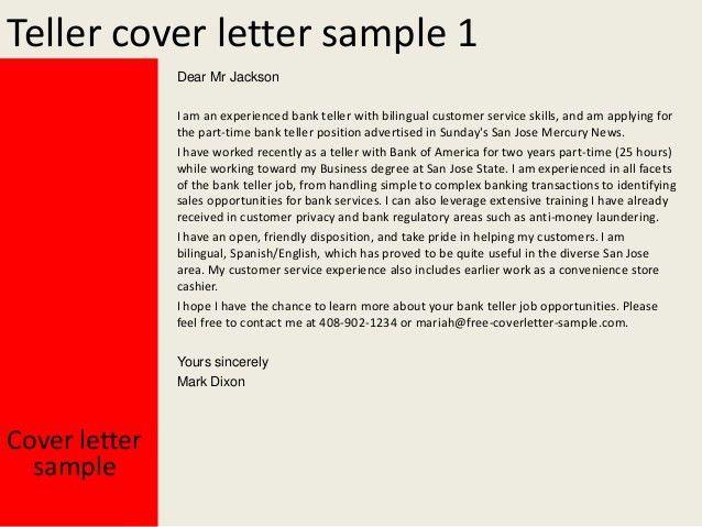 ... Full Time Teller Positions Sample Of Bank Teller Resume Physician   Pnc  Bank Teller Cover Letter ...
