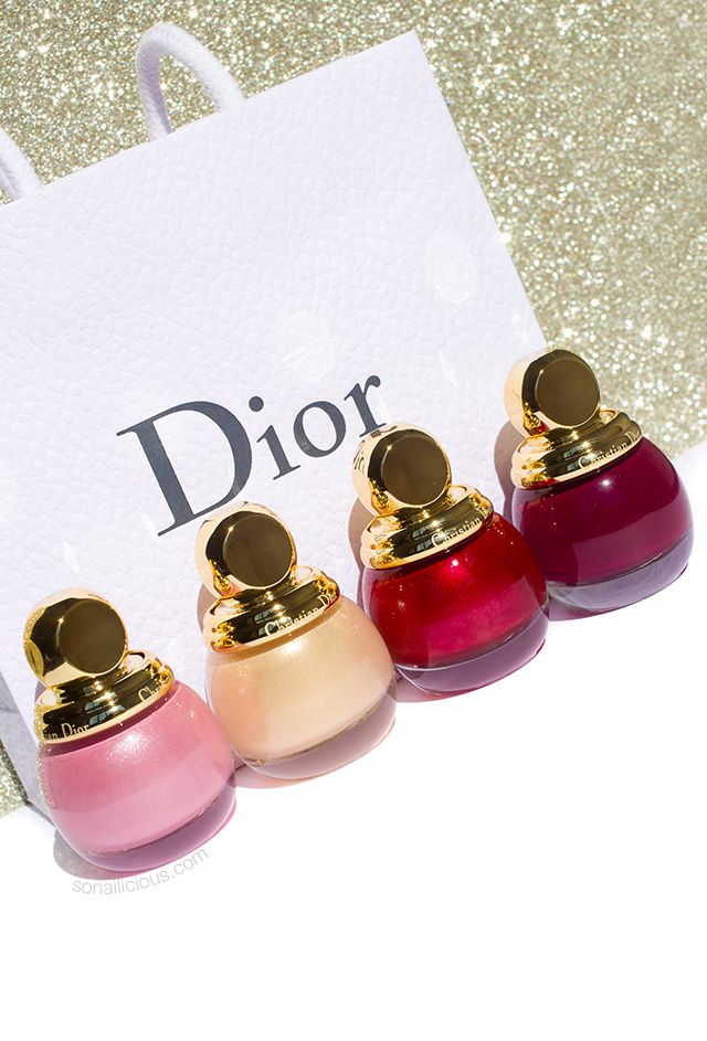 Dior Diorific Midnight Wish – Christmas Nail Polish Collection – Review & Swatches