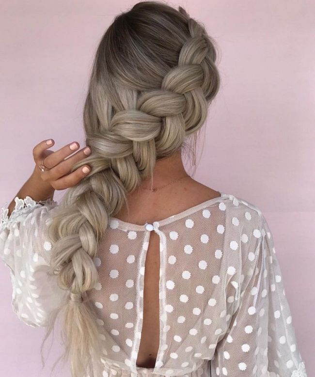 "39 Trendy + Messy & Chic Braided Hairstyles | Loose Big Braided hairstyle <a class=""pintag"" href=""/explore/halfuphalfdown/"" title=""#halfuphalfdown explore Pinterest"">#halfuphalfdown</a> <a class=""pintag"" href=""/explore/braids/"" title=""#braids explore Pinterest"">#braids</a> <a class=""pintag"" href=""/explore/hairstyles/"" title=""#hairstyles explore Pinterest"">#hairstyles</a> 